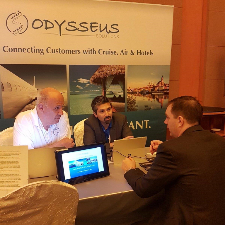 Odysseus Solutions at Singapore Digital Travel APAC