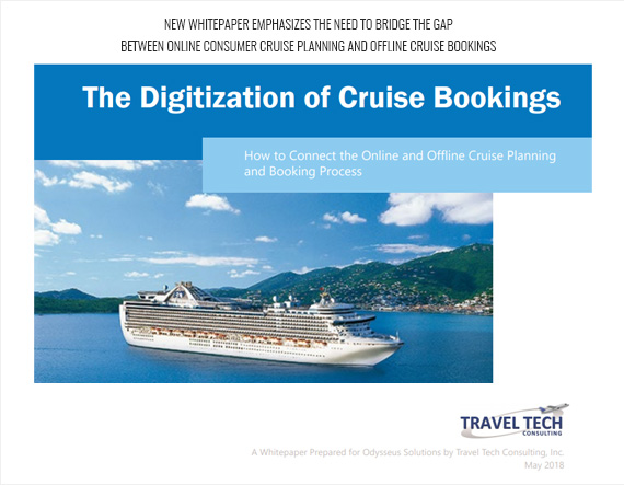 New Whitepaper Emphasizes the Need to Bridge the Gap between Online Consumer Cruise Planning and Offline Cruise Bookings